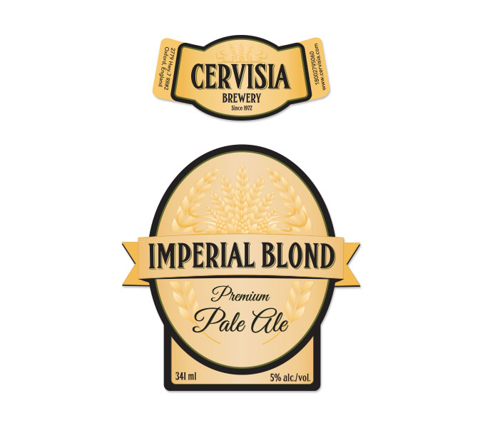 Cervisia Beer Labels