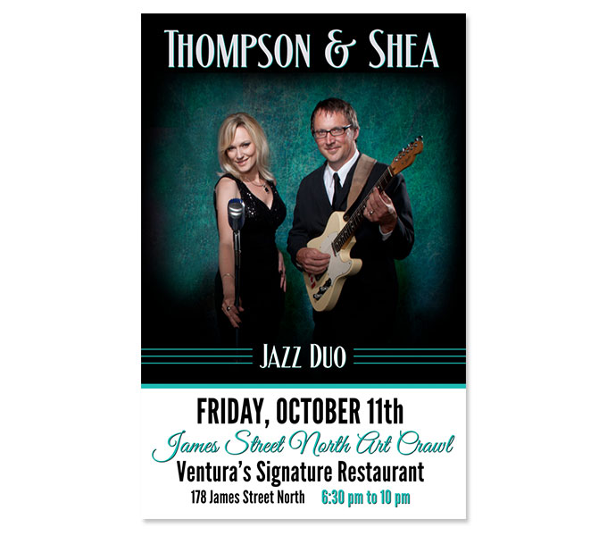 Thompson and Shea Poster